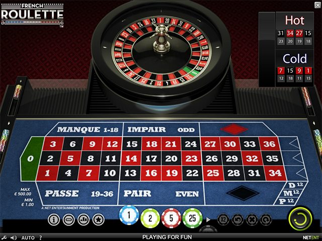 french roulette gokkast