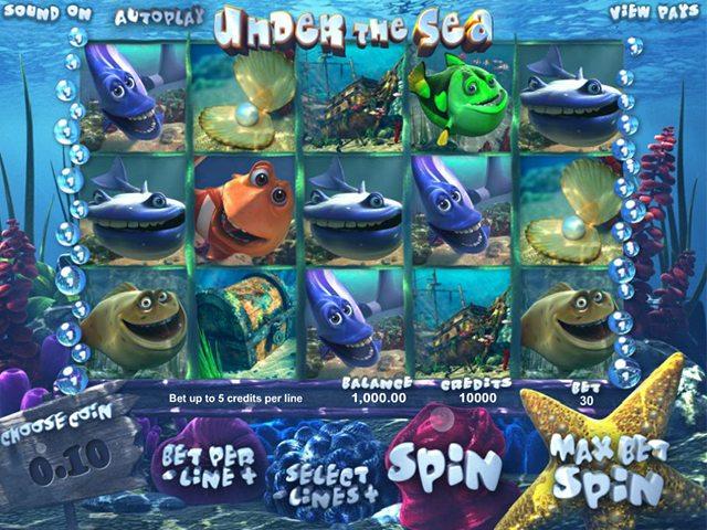 under the sea gokkast