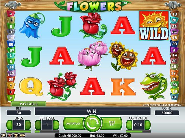 flowers gokkast