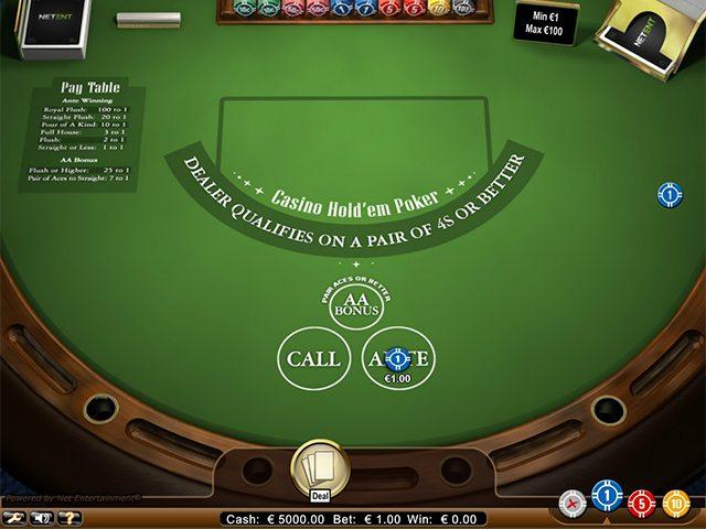 casino holdem casinospel