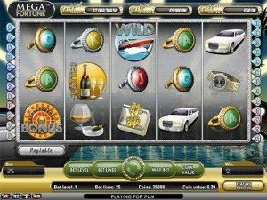 mega fortune speelautomaat