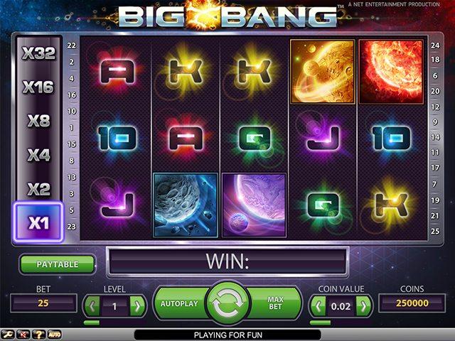 big bang symbolen