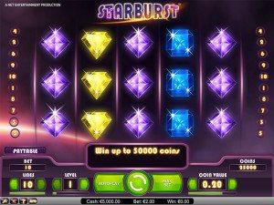 starburst speelautomaat