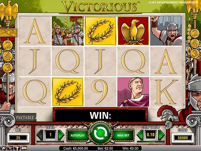 Victorious gokkast