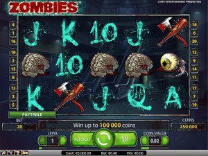 zombies gokkast
