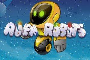 aliens robots logo