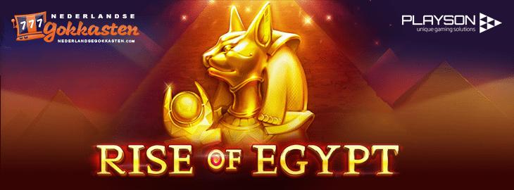 rise of egypt gokkast banner