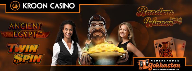Kroon Casino – Promoties November