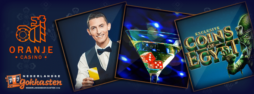 Oktober zit vol met leuke promoties bij Oranje Casino