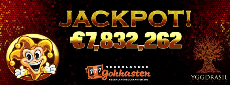 Een onwerkelijke droom voor velen: Zweedse gokker wint bij LeoVegas de Yggdrasil jackpot van maar liefst 7,8 miljoen euro