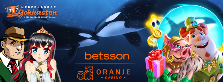 oranje casino banner