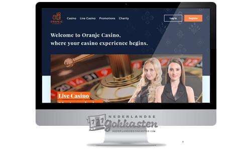 oranje casino overzicht