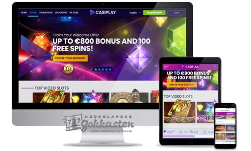 casiplay casino welkomstpakket