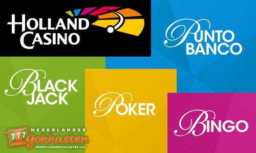 holland casino casino spellen