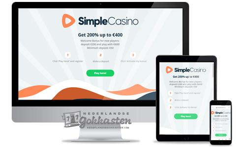 simple casino welkomstpakket