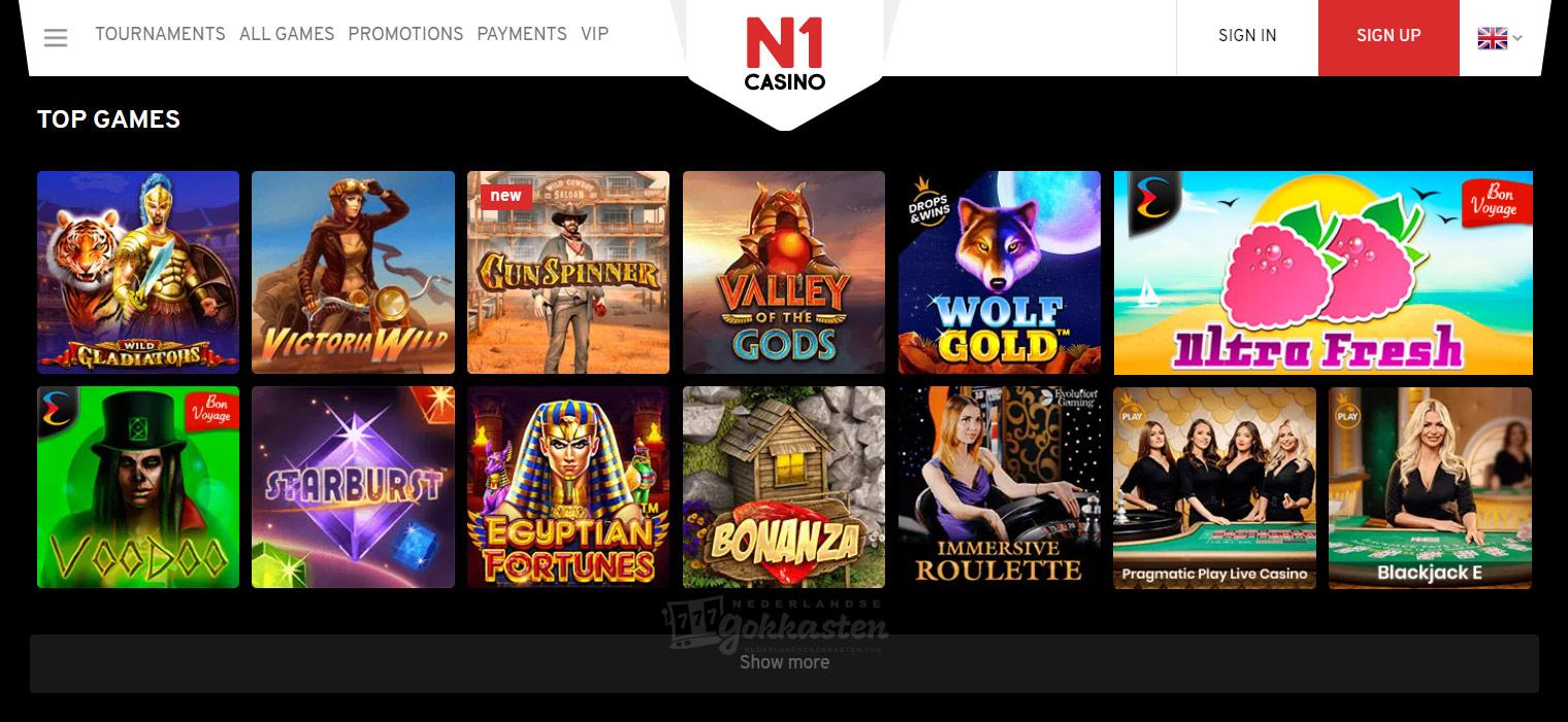 n1 casino speelautomaten