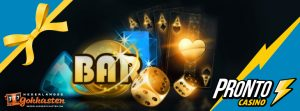 no deposit bonus bij pronto casino